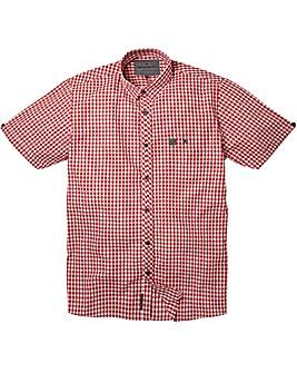 Voi Archer Dark Red Shirt Regular