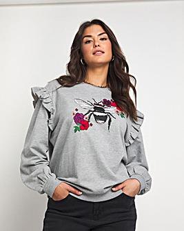 Emma Mattinson Frill Sweatshirt