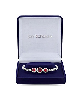 Jon Richard Ruby Red Bracelet