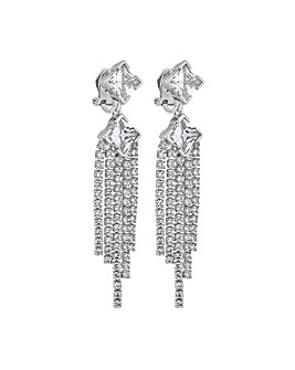 Jon Richard Statement Clip Earring