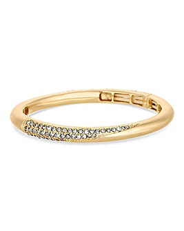 Jon Richard Gold Polished Bangle