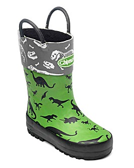 Chipmunks Jurassic Wellingtons