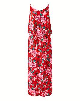Petite Layered Maxi Dress