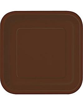 "9"" Square Paper Plates x 14"