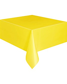 Plastic Oblong Table Cover 54""