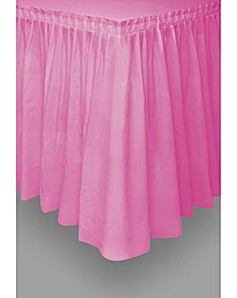 """Plastic Table skirt 29"""" x 14ft"""