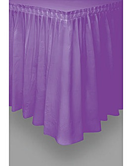 "Plastic Table skirt 29"" x 14ft"