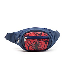 Spiderman Webbed Logo Bum Bag