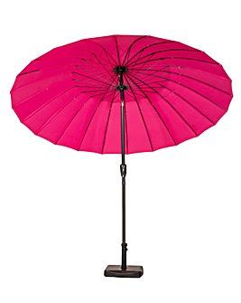 Pink 2.7m Shanghai Parasol