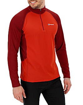 Berghaus Tech Zip Neck 2.0 T-Shirt