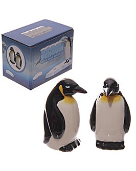 Penguins Ceramic Salt and Pepper Set