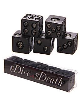 Fantasy Skull Dice Pack of 5
