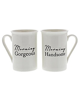Amore Set Of 2 Mugs