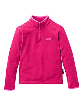 Jack Wolfskin Girls Gecko Fleece Jacket
