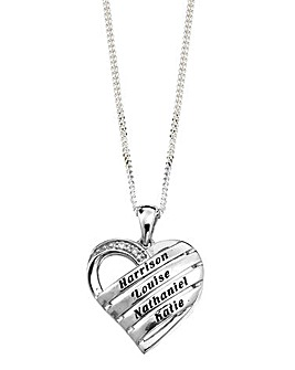 Precious Sentiments Heart Pendant