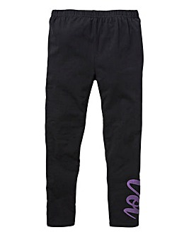 Voi Girls Foil Logo Leggings