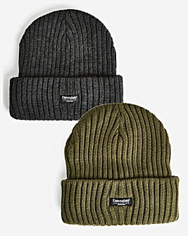 Pack 2 Thinsulate Hats