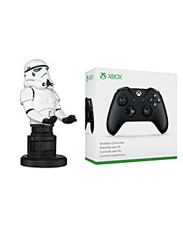 Stormtrooper Cableguy + Xbox Controller