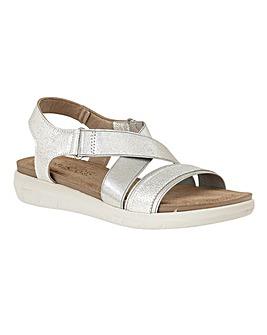 Lotus Fallon Flat Open-Toe Sandals