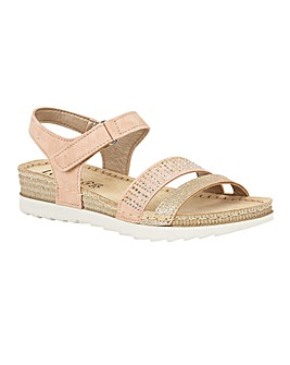 Lotus Taryn Flat Open-Toe Sandals
