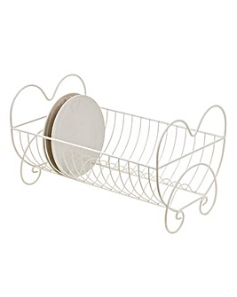 Country Hearts Dish Drainer