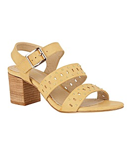 Lotus Robertia Block-Heel Sandals