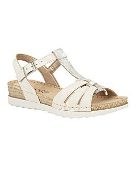 Lotus Charlene Flat Open-Toe Sandals