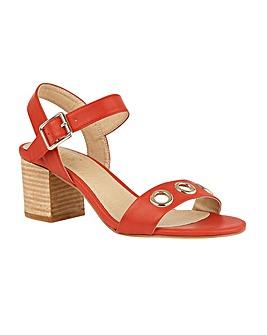 Lotus Marina Block-Heel Open-Toe Sandals