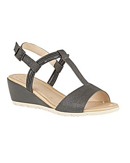 Lotus Kiera Wedge Open-Toe Sandals
