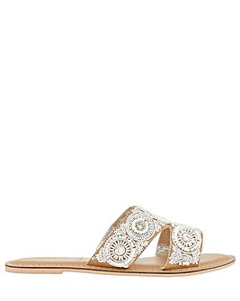 Accessorize Rosario Embellished Slider