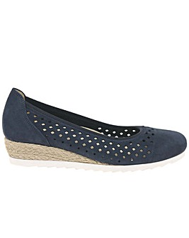 Gabor Evelyn Wider Fit Wedge Heel Shoes