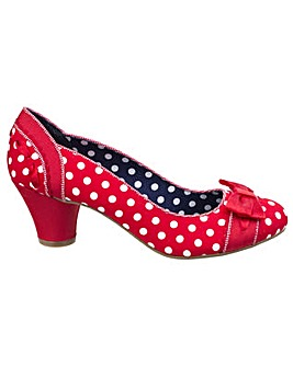 Ruby Shoo Hayley Slip On Heels