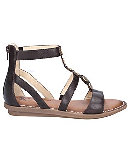 Hush Puppies Olive Gladiator Zip Sandal