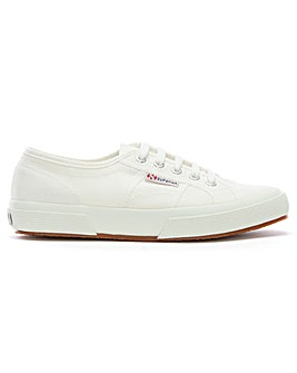 Superga Cotu Lace Up Canvas Trainers