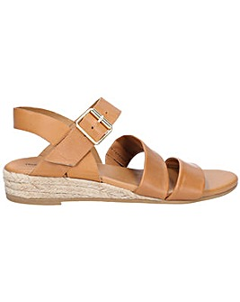Hush Puppies Ruby Buckle Wedge Sandal