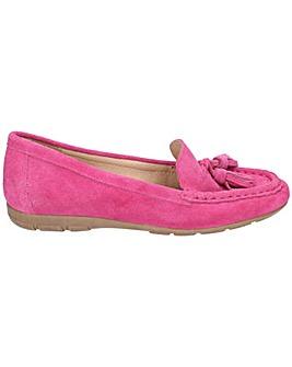 f4b3166567f5fe Hush Puppies Daisy Slip On Moccasin Shoe