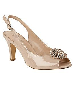 Lotus Elodie Court Shoes Standard D Fit