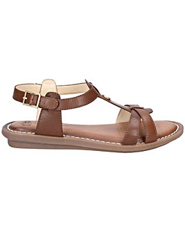 Hush Puppies Olive Tstrap Buckle Sandal