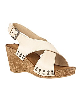 Lotus Kalahari Wedge Open-Toe Sandals