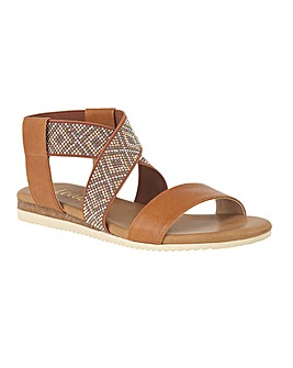 Lotus Zuri Flat Open-Toe Sandals