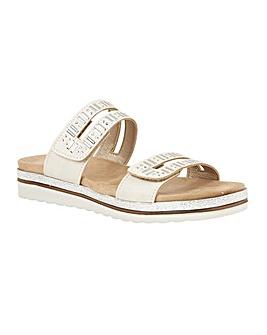 Lotus Halley Open-Toe Mule Sandals