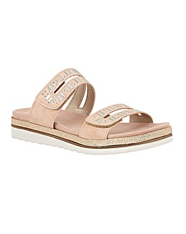 Lotus Halley Mule Sandals Standard D Fit