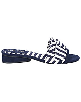 Ruby Shoo Alena Ruffled Slip On Sandal