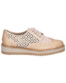 Ruby Shoo Davina Chunky Brogue Shoe