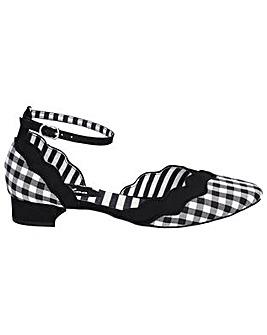 Ruby Shoo Lydia Buckle Strap Sandal