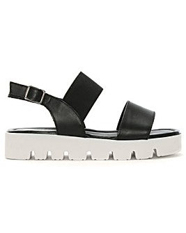 Daniel Ramea Leather Cleated Sandals