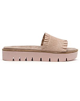Daniel Frilla Cleated Flatform Sliders
