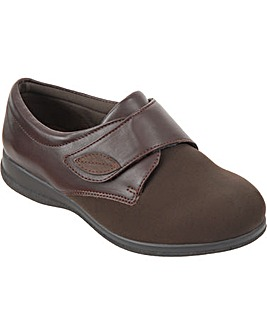 Cosyfeet Karen Extra Roomy (6E Width) Women's Fabric Shoes