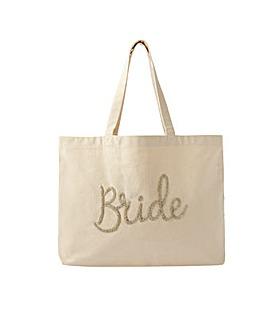 Accessorize Bride Beaded Shopper Bag