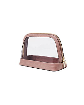 Accessorize Large Clear Make Up Bag